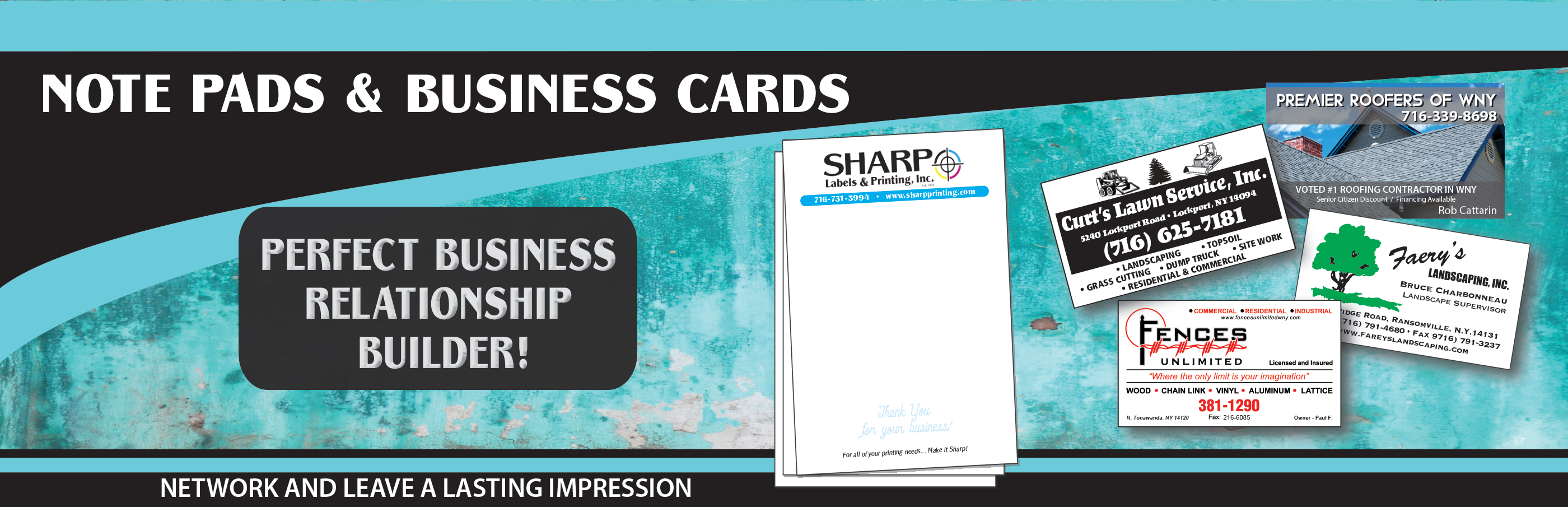 Note Pads & Business Cards